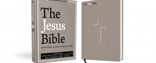 The Jesus Bible Hits No. 1 Spot for CBA Book and Bible Bestseller