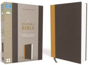 NIV Reader's Bible