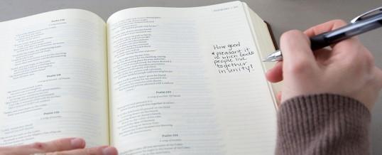 Charting Your Spiritual Growth through Bible Journaling