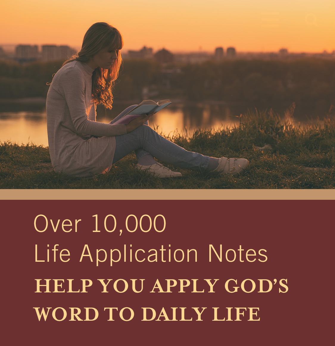 Life Application Study Bible NIV | NIV Life Application