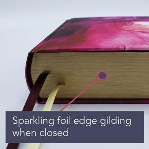 Artisan Collection foil edge