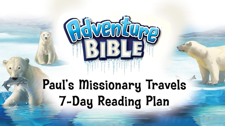Adventure Bible Polar edition reading plan