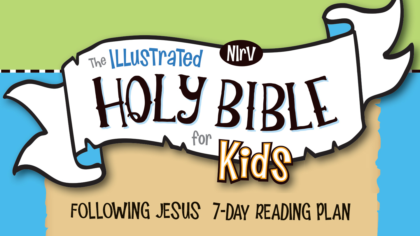 Illustrated Holy Bible for Kids reading plan