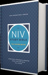 NIV Study Bible Hardcover image