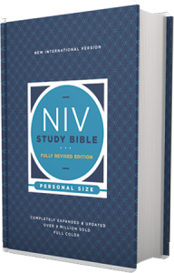 NIV Study Bible Personal Size Hardcover