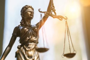 scales of justice and mercy