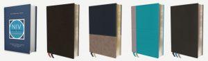 NIV Study Bible fully revised edition bindings