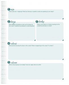 verse mapping template