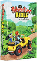 NIrV Adventure Bible for Early Readers