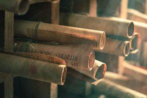 Biblical scrolls