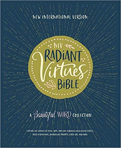 NIV Radiant Virtues Bible Cover